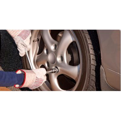 Снятие и установка колеса (легковой автомобиль)