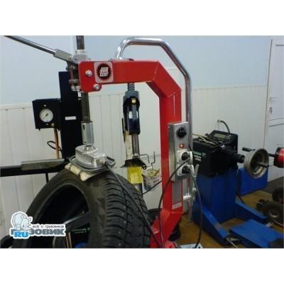 Вулканизация одного прокола колеса камеры