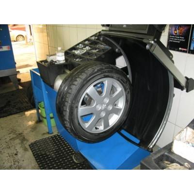балансировка колеса (микроавтобус R14, R15, R16)