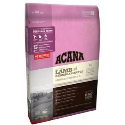 Acana Для собак с ягнёнком и яблоками Lamb&Okanagan Apple