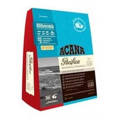 Acana Для кошек с лососем, сельдью и камбалой Pacifica