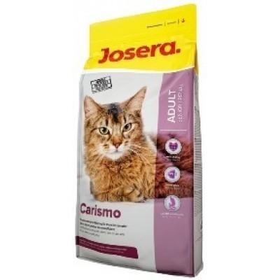 Carismo сухой корм супер-премиум класса компании Josera для кошек старше 7 лет, а также для кошек с хронической почечной недостаточностью
