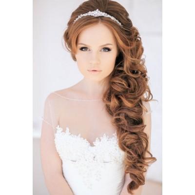 Причёска свадебная